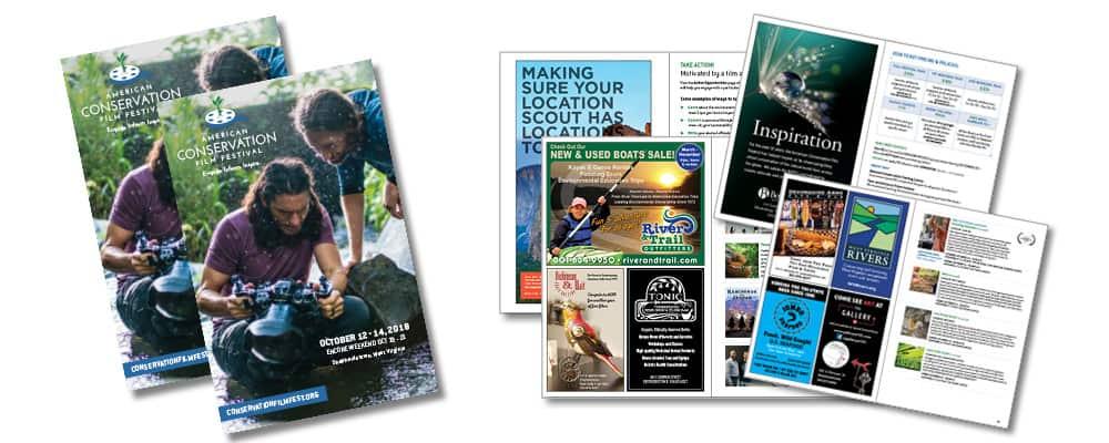 ACFF Program Advertising Samples