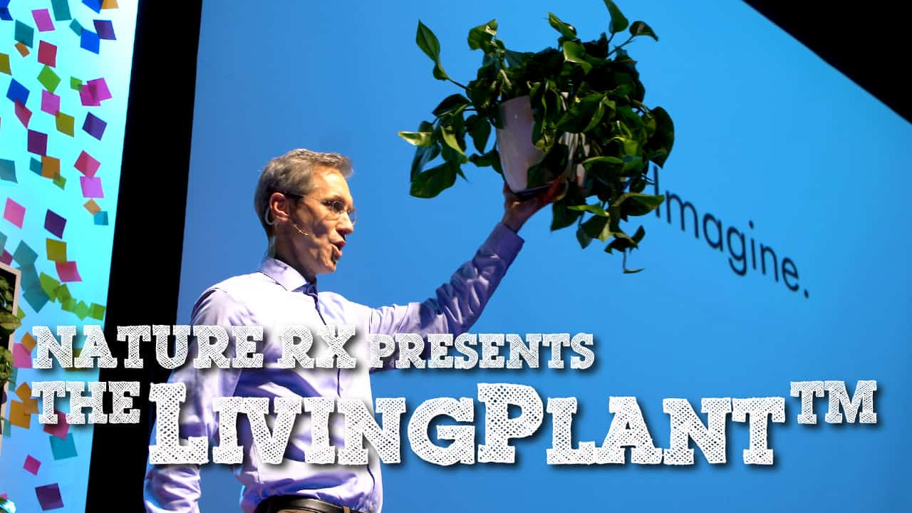 NATURERX PRESENTS THE LIVING PLANT
